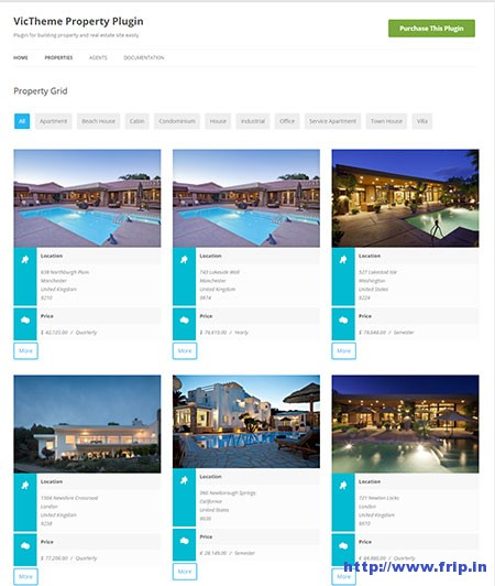 WordPress-Property-Real-Estate-Plugin