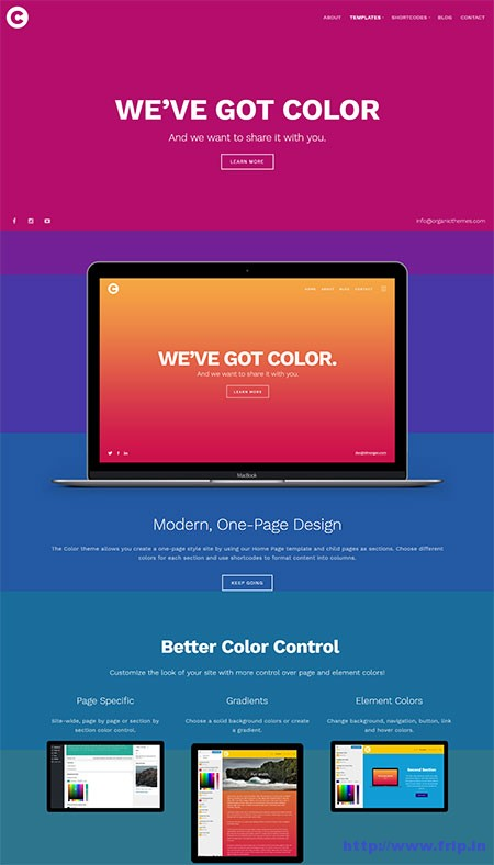 color-wordpress-theme