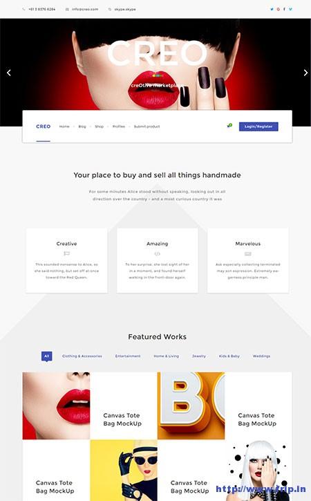 creo-marketplace-wordpress-theme