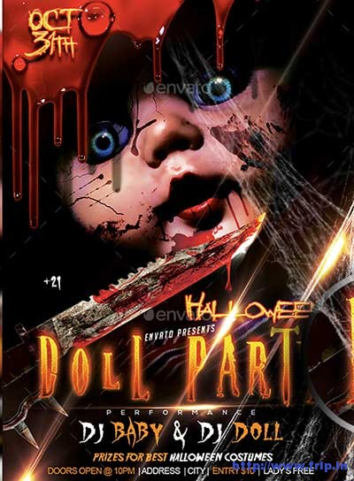 halloween-doll-party