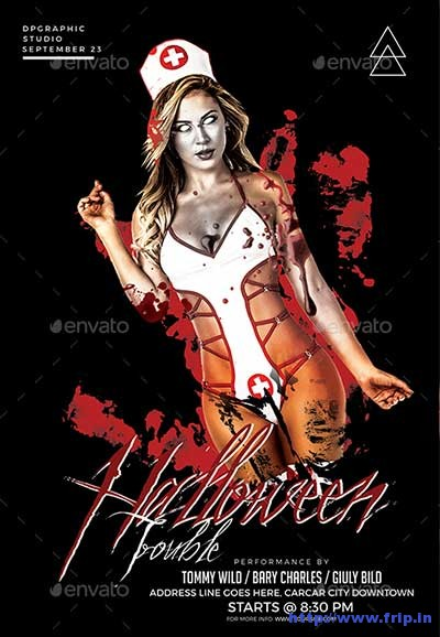 halloween-trouble-flyer