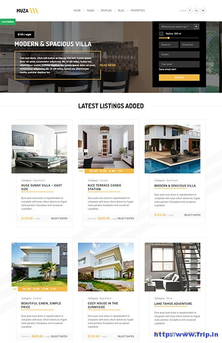 muza-vacation-rental-owner-wordpress-theme
