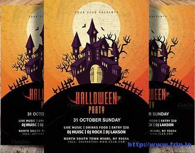 vintage-halloween-party-flyer