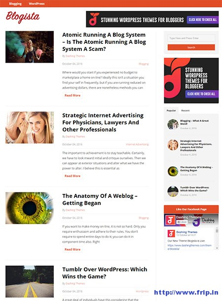 blogista-wordpress-theme