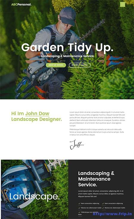 abc-personal-gardener-wordpress-theme