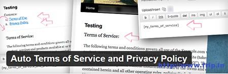 privacy policy wordpress plugin