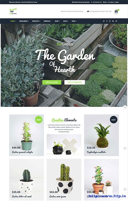 gardening wordpress themes