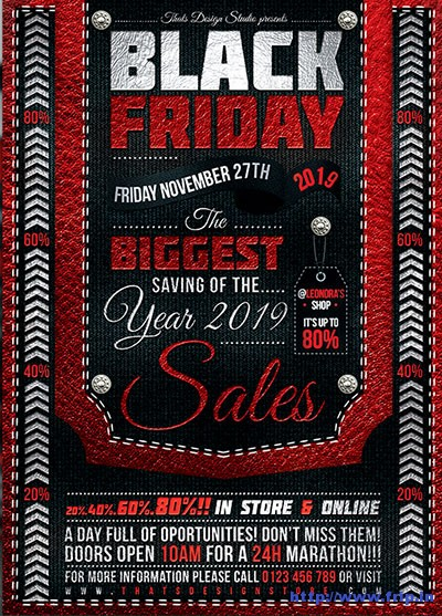 black-friday-flyer-template