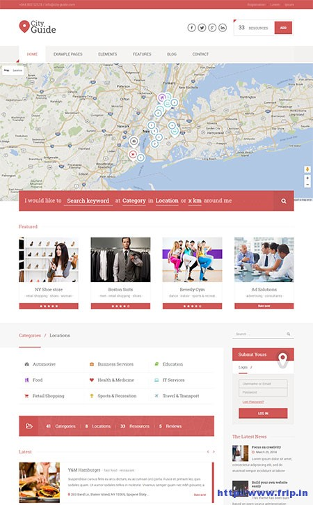 city-guide-directory-wordpress-theme
