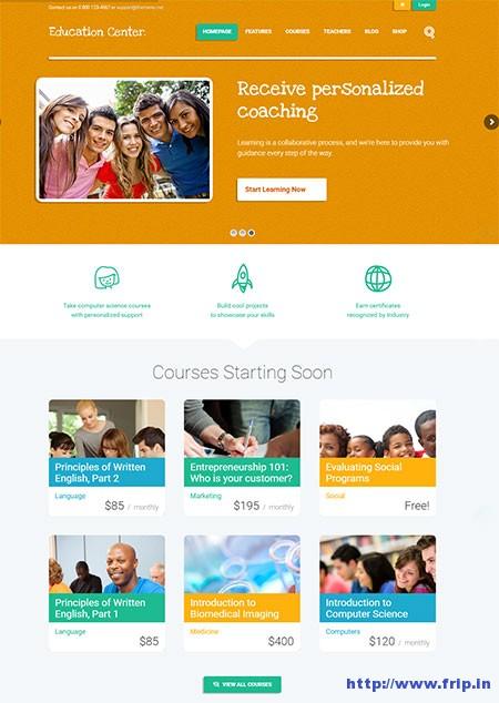 education-center-training-courses-WordPress-theme
