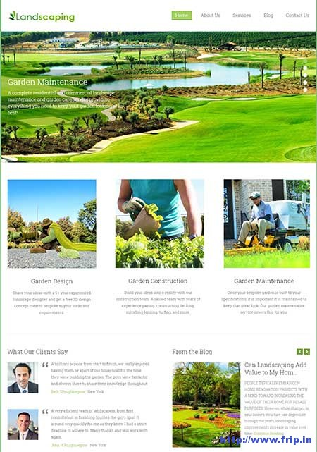 landscaping-wordpress-theme