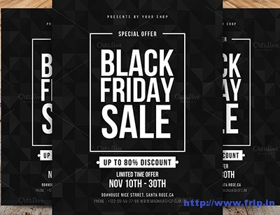 minimal-black-friday-flyer-template