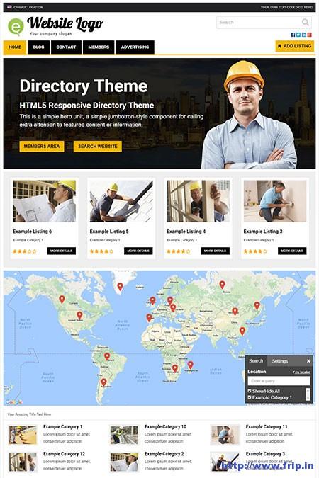 responsive-directory-wordpress-theme