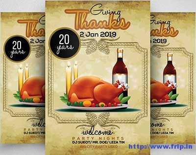 thanks-giving-party-flyer-templatess