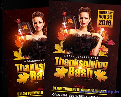 thanksgiving-bash-flyer-template