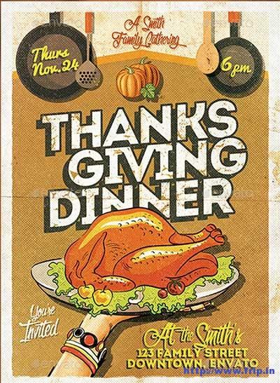 thanksgiving-dinner-invitation-flyer-template