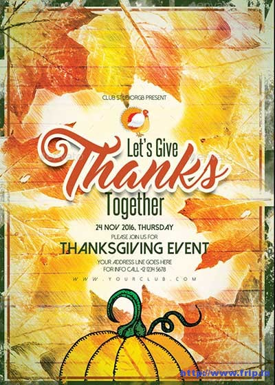 thanksgiving-event-a3-poster