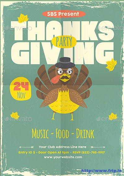 thanksgiving-flyer-template