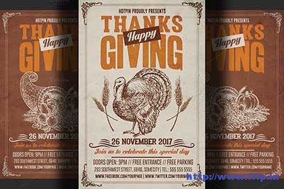 thanksgiving-flyer-templates
