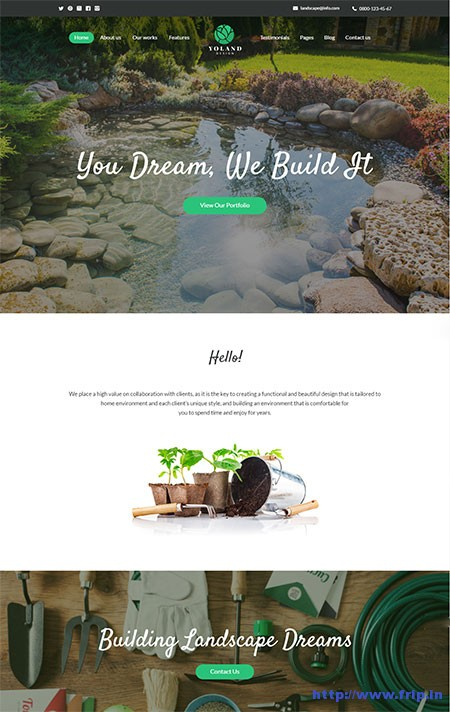 yoland-landscape-wordpress-theme