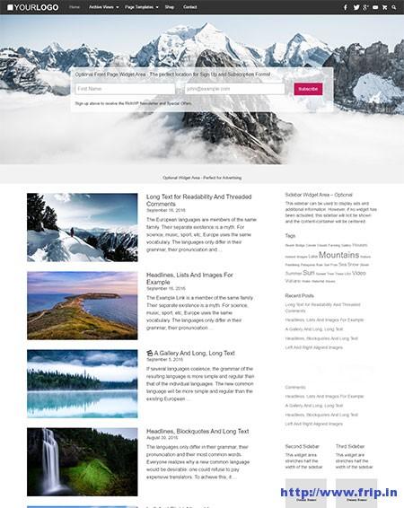 rich-master-blogging-wordpress-theme