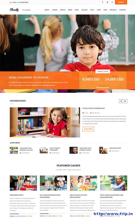 charity-non-profit-wordpress-theme