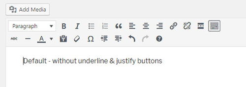 default-without-underline-justify-buttons