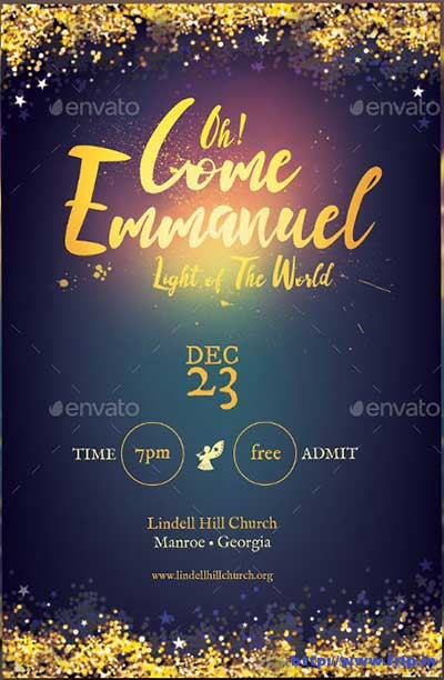 emmanuel-christmas-flyer-template