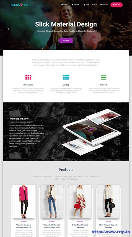 hestia-pro-material-design-wordpress-theme