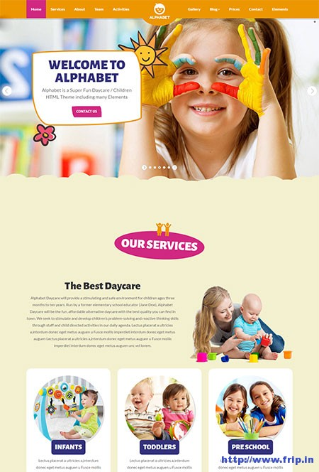 alphabet-daycare-website-template