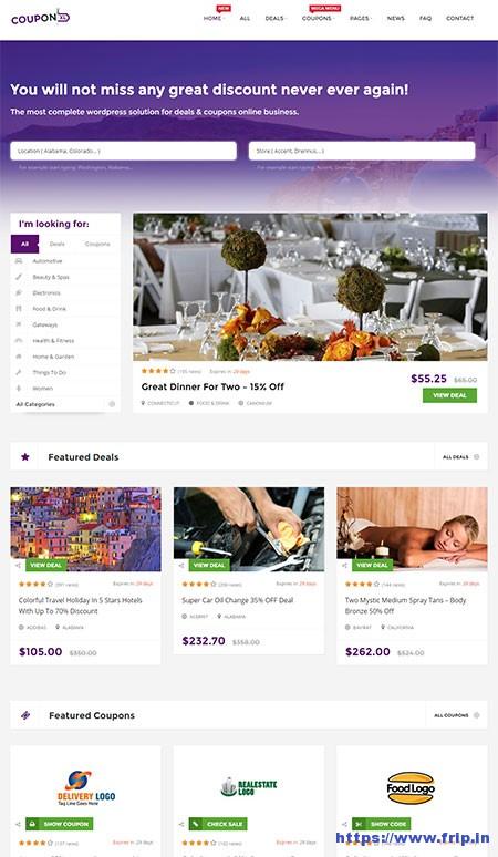 couponxl-deals-wordpress-theme