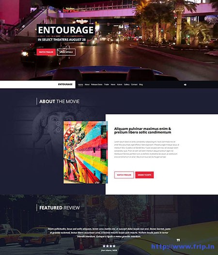 entourage-movie-cinema-wordpress-theme