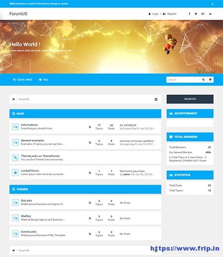 forumus-responsive-phpbb-theme