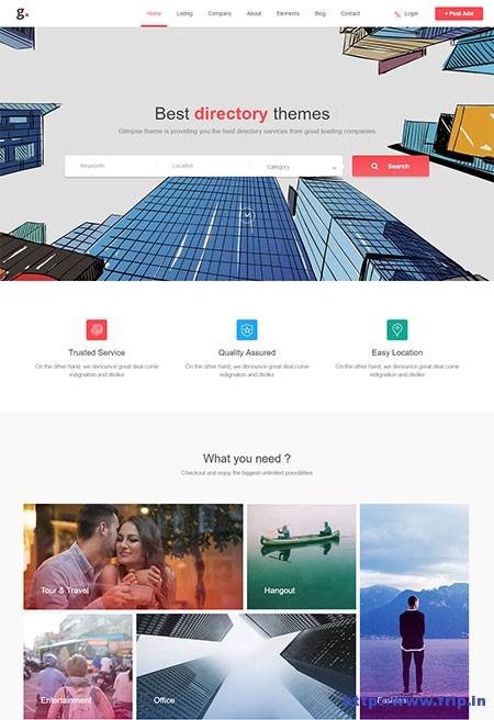 glimpse-multipurpose-directory-template