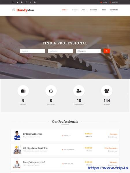 handyman-job-board-wordpress-theme