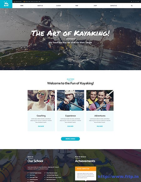 kayaking-outdoor-sports-wordpress-theme