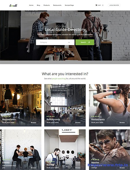 loocall-business-directory-wordpress-theme