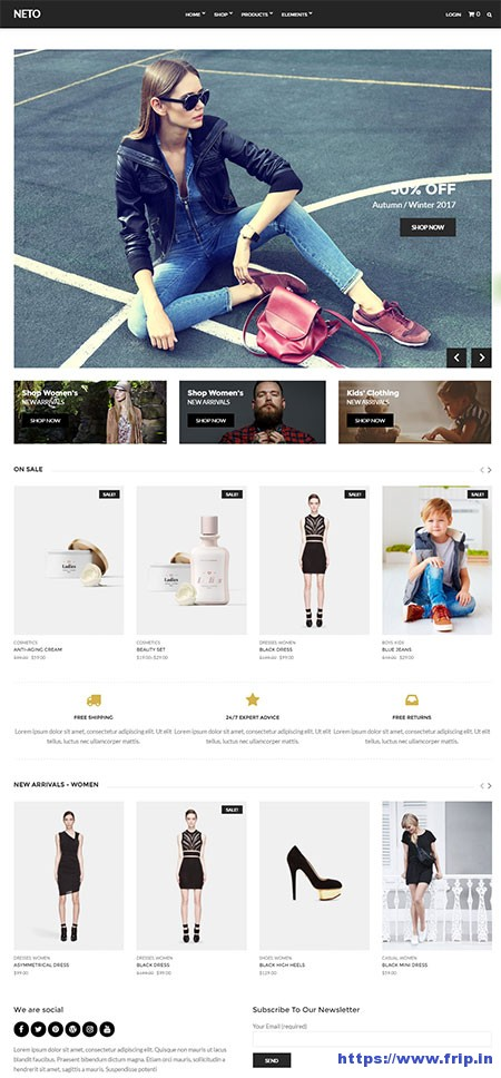 neto-ecommerce-wordpress-theme