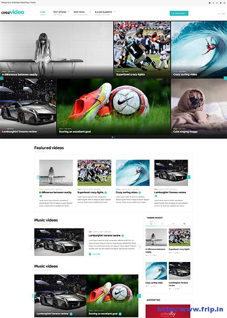 one-video-video-community-wordpress-theme