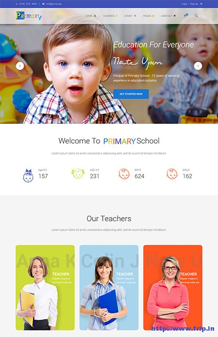 Kids Website Templates