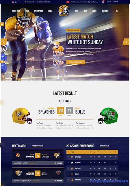 splash-sports-WordPress-theme