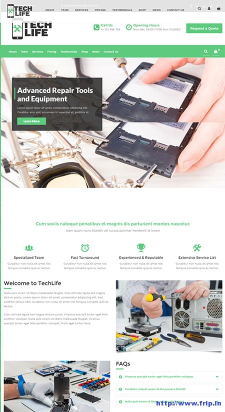 techlife-repair-shop-wordpress-theme