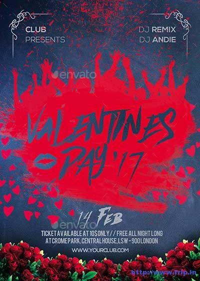 valentine-day-party-flyer