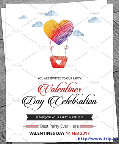 valentine-party-flyer