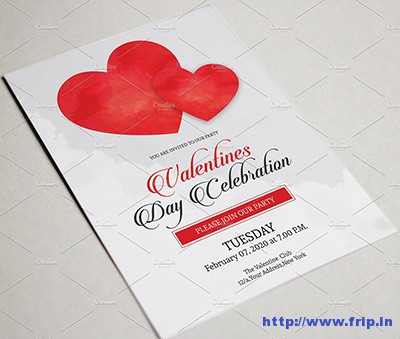 valentine-party-flyer-template