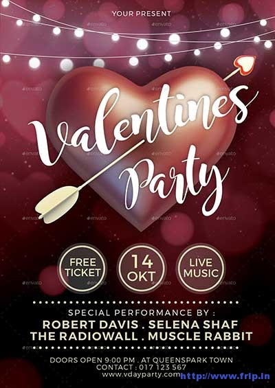valentines-party-flyer-template