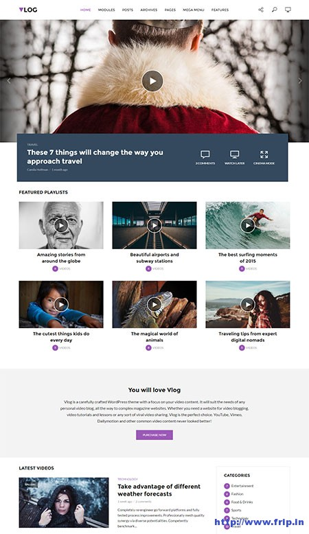 vlog-video-blog-wordpress-theme