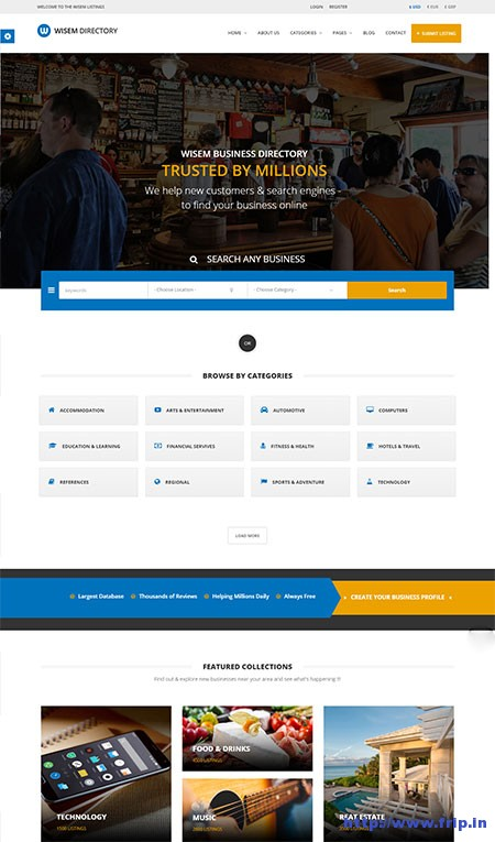 wisem-directory-html-template