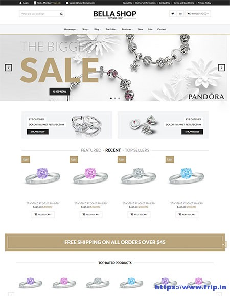 Bella-eCommerce-WordPress-Theme