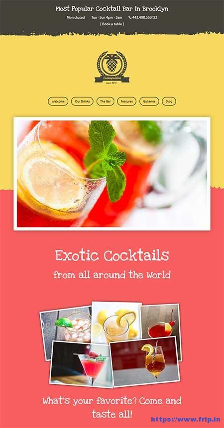 Cocktail-Bar-WordPress-Theme
